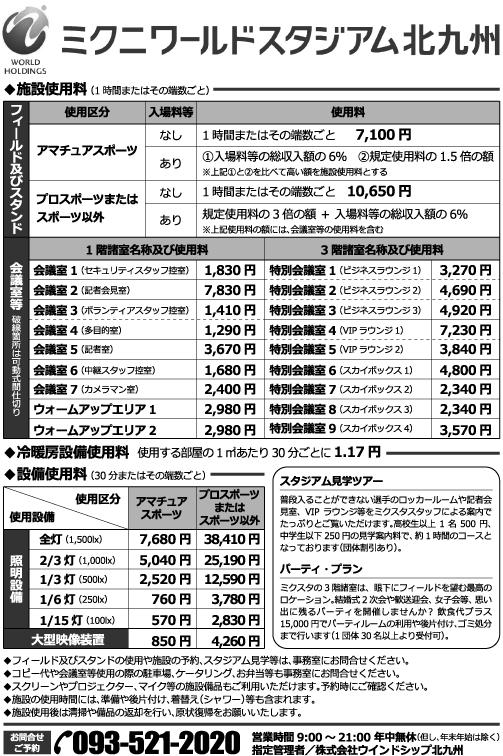平成31年4月1日改定価